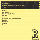 Antibalas - Great American Music Hall - San Francisco, CA - 7.5.03