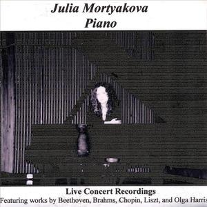 Julia Mortyakova, Piano - Live Concert Recordings