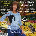 Priscilla LaMarca Kandel - Bugs, Birds, & Animal Activity Songs