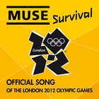 Muse - Survival (CDS)