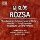 Hungarian Sketches; Cello Rhapsody