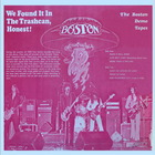 Boston - We Found It In The Trashcan, Honest (2002 Remastered)