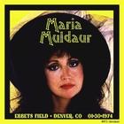Maria Muldaur - Live At Ebbets Field (Vinyl)