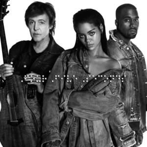 Rihanna, Kanye West & Paul Mccartney - Fourfiveseconds (CDS)