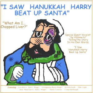 I Saw Hanukkah Harry Beat Up Santa