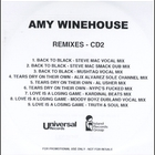 Amy Winehouse - Back to Black (Remixes)