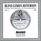 Blind Lemon Jefferson - Complete Recorded Works, Vol. 3 - 1928