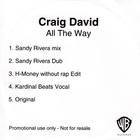 Craig David - All The Way (CDS)