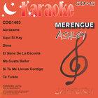 Karaoke CD+G Ashley