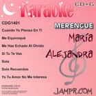 Karaoke CD+G Maria Alejandra