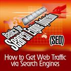 How to Get Web Traffic Via Search Engines - Basics for Search Engine Optimization (S.E.O.)