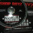 Shop Boyz - Party Like A Rockstar (Promo CDS)-Proper