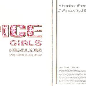 Headlines (Friendship Never Ends) CDS