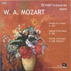 W.A. Mozart / Three Piano Sonatas