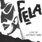 Live In Detroit 1986