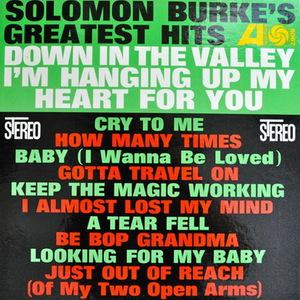 Solomon Burks's Greatest Hits (Vinyl)