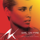 Alicia Keys - Girl On Fire (Inferno Version) (Feat. Nicki Minaj) (CDS)