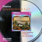 Sibelius Symphonies 5 & 7 (Under Colin Davis)