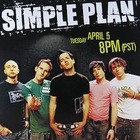 Simple Plan - Live on AOL