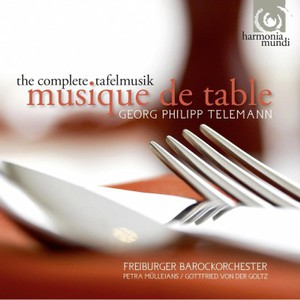 Georg Philipp Telemann: Tafelmusik & Musique De Table CD2
