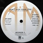 Booker T. Jones - Don't Stop Your Love (VLS)