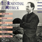 Ted Rosenthal - Live At Maybeck Recital Hall Vol. 38