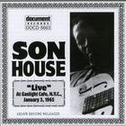 Son House - Live At Gaslight Cafe (Vinyl)
