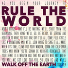 Walk Off The Earth - Rule The World (CDS)