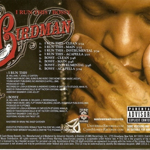 I Run This / Bossy (CDS)