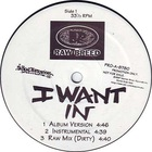 Raw Breed - I Want In (MCD)