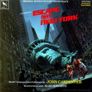 Escape From New York (With Alan Howarth) (Reissued 1987)