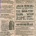 Anais Mitchell - The Song They Sang... When Rome Fell