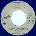 Martha And The Muffins - Echo Beach / Teddy The Drink (VLS)