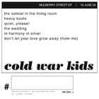 Cold War Kids - Mulberry Street (EP)