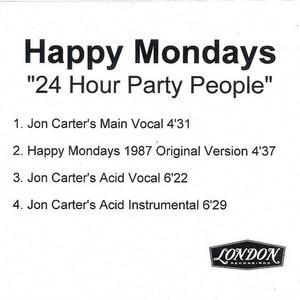 24 Hour Party People (Jon Carter Remixes) (CDR)