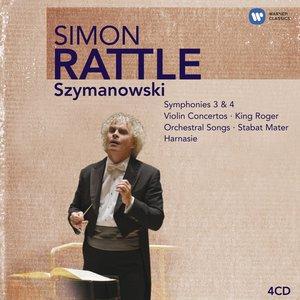 Karol Szymanowski: Symphonies Nos. 3 & 4; Violin Concertos; King Roger; Orchestral Songs; Stabat Mater; Harnasie CD1