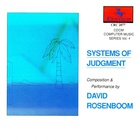 David Rosenboom - Systems Of Judgment