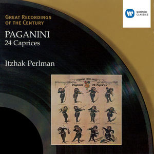 Paganini: 24 Caprices (By Itzhak Perlman)
