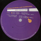 Robag Wruhme - Zwei Maenner Im Split (Split With Metaboman)