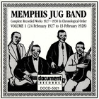 Memphis Jug Band - Complete Recorded Works Vol. 1