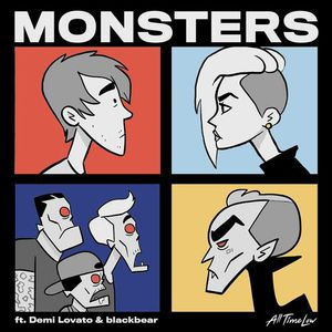 Monsters (Feat. Demi Lovato And Blackbear) (CDS)